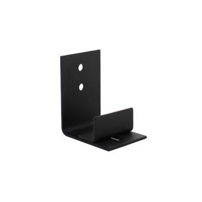 Verstelbare deurgeleider  tbv onderzijde loftdeur zwart